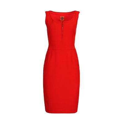 body con sleeveless midi dress scarlet